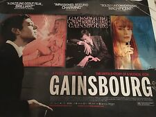 Gainsbourg Original Uk Quad Poster