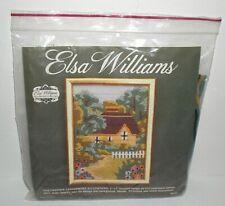 Vtg New Elsa Williams SUMMER HAVEN Needlepoint Kit Wool Yarn Michael LeClair