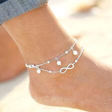 bracelet foot jewelry Hf Infinity anklet anklet love jewelry