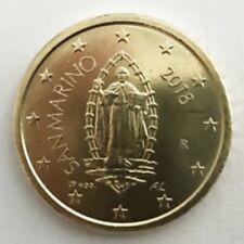 San Marino  2018     50 cent   Nieuwe afbeelding  !!!  UNC uit de rol