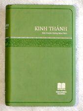 Vietnamese Bible, Revised Vietnamese Version, Green Imitation Leather