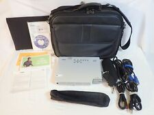 OFFICE USED CASIO DLP DATA PROJECTOR XJ-S31 w/ BUNDLED ACCESSORIES - 20 HOURS