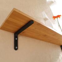 2pcs Wall Mounted Hanging Shelf Bracket L Shaped Support Bracket 10x15cm