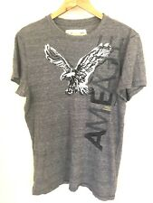 AMERICAN EAGLE OUTFITTERS Grey Cotton Short Sleeve T-Shirt Size M/M