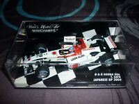 f1 1/43 Bar honda 006 T.Sato 2004 / japanese GP 2004  /Minichamps