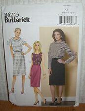 Womens/Misses Jacket & Dress Sewing Pattern/Butterick B6243/SZ 14-22/UCN