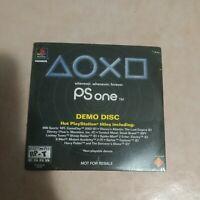PSone Demo Disk Playstation Sealed