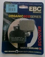 EBC Organic REAR Disc Brake Pads Fits PEUGEOT SPEEDFIGHT 125 (2014 to 2015)