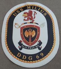 US Navy Decal / Sticker / USS Milius DDG-69