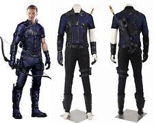 New Captain America Civil War Clint Barton Hawkeye Cosplay Costume Custom Made