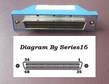 Generic HPDB68-TERM-Blue SCSI Ultra Wide HPDB68 Male Terminator