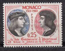 TIMBRE MONACO NEUF N° 576 ** LOUIS XII ROI DE FRANCE ET LUCIEN GRIMALDI
