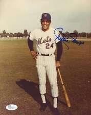 Willie Mays Jsa Coa Hand Signed 8x10 Photo Authentic Autograph
