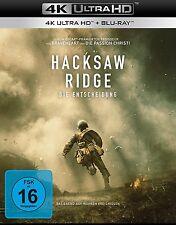 HACKSAW RIDGE - DIE ENTSCHEIDUNG (ANDREW GARFIELD,...) 4K UHD + BLU-RAY NEU
