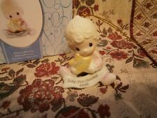 NEW! Precious Moments Ornament Baby's 1st First Christmas Girl with Star 2009