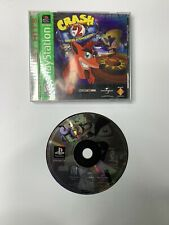 Crash Bandicoot 2: Cortex Strikes Back (Sony PlayStation Ps1) Complete Tested