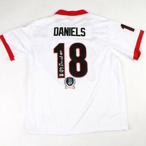 jt daniels signed autographed georgia jersey uga beckett bas coa rare