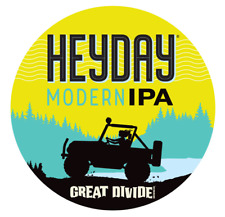Great Divide Gär Co Heyday Moderne Ipa Aufkleber 4in Brewery