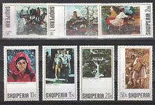 1972 Albania. Albanian  Stamps. Art Galery. MNH.