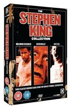 """THE STEPHEN KING CLASSIC HORROR MOVIE COLLECTION 3 DISC DVD BOX SET """"NEW&SEALED"""""""