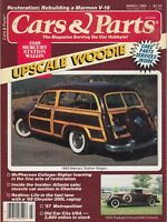 March 1989 Cars & Parts 1934 Magazine - Woodie Rod 1949 Mercury Station Wagon