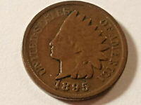 1895 Indian Head Penny 1c Cent  Nice Coin