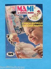 TOP989-PUBBLICITA'/ADVERTISING-1989- GIG - MAMI LA BAMBOLA MAMMA