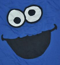T-SHIRT L LARGE SESAME STREET COOKIE MONSTER SHIRT