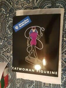 "1999 Catwoman Figurine 12"" Statue DC Comics Batman Warner Bros MIB"