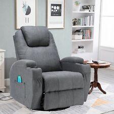 Massagesessel Fernsehsessel 360° drehbar Relaxsessel Wärmefunktion Fernbedienung