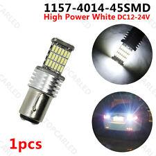 1 X 1157 BAY15D 4014 LED 45SMD White BA15S P21W Tail Brake Turn Signal Ligts 15W