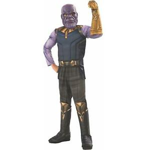 Marvel Avengers Infinity War Thanos Deluxe Boys size L 12-14 Costume Entire