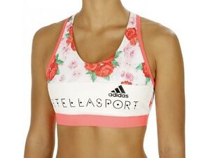 Adidas Ladies Stellasport SC Padded Bra, Sports, Fitness, Yoga, Running Top