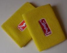 Nike Wnba para Dama Dri-Fit Muñequeras un Par Color Amarillo Huelga Talla Osfm