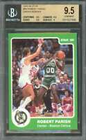 1985-86 star #99 ROBERT PARISH GREEN BORDER celtics BGS 9.5 (9.5 9.5 9.5 9)