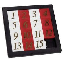 Number Slide Puzzle Classic Sliding Brain Teaser Game Toy by Toysmith