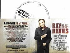 CD COLLECTOR RAY DAVIES SEE MY FRIENDS 16 TITRES METALLICA/SPRINGSTEEN/BON JOVI