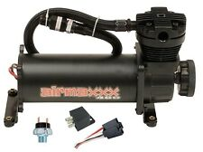 Air Ride Suspension Compressor 480 Black airmaxxx 165 psi On 200 psi Off Switch