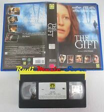 film VHS THE GIFT Cate  Blachett  Keanu Reeves Medusa Film   (F8*) no dvd