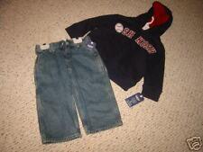 OKB11 NWT 2T Osh Kosh blue hoodie sweatshirt pant lot