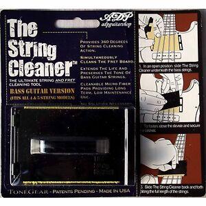 Nettoyeur Microfibres Cordes Basse Tone Gear Bass String Fretboard Cleaner R SCB
