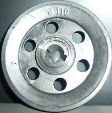 RIEMENSCHEIBE BADMINTON MOTOR ELEKTRISCHER D.110 - 1GOLA - LOCH 19 ABAC ORIGINAL