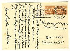 BERLIN - ORTSKARTE mit Nr. 112 Berliner BAUTEN - WAAGERECHTES PAAR (51)