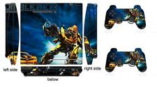 Transformers 003 Skin Sticker for PS3 PlayStation 3 Slim and 2 controller skins