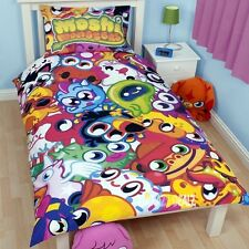 Moshi Monsters Moshlings Single Panel Duvet Cover Bed Set Angel Chop Chop Ecto