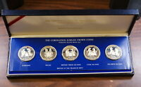 The Coronation of the Queen, 5 Silver Crown Coins