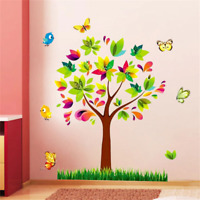 DIYTree Birds Sticker Kids Baby Nursery Rooms Wall Adornment Home Decor Decals