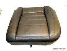 Rear Seat Bottom Ns-Black Leather-(ref.581)-06 Volkswagen Touareg 3.0 Tdi