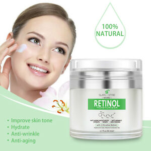 Swan Star Retinol Cream Hyaluronic Acid Anti Wrinkle Skin Care Christmas Gift