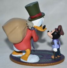 Disney Authentic EBENEZER SCROOGE TINY TIM CHRISTMAS CAROL Cake TOPPER Toy NEW